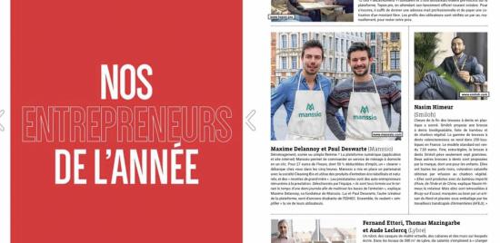Maxime et Paul elus Entrepreneurs de l'annee ! - Image 2